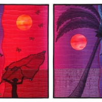 19. Night Fishing diptych - for website