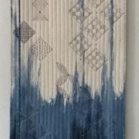 Indigo Dyeing, Ikat Weaving and Sashiko Stitching