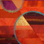 Pat Archibald Class Sample Detail Sunset Colours