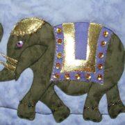 Elephant for Good Luck detail