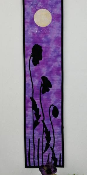 Twilight Poppies Lilac