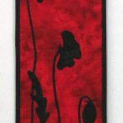 Twilight Poppies Red