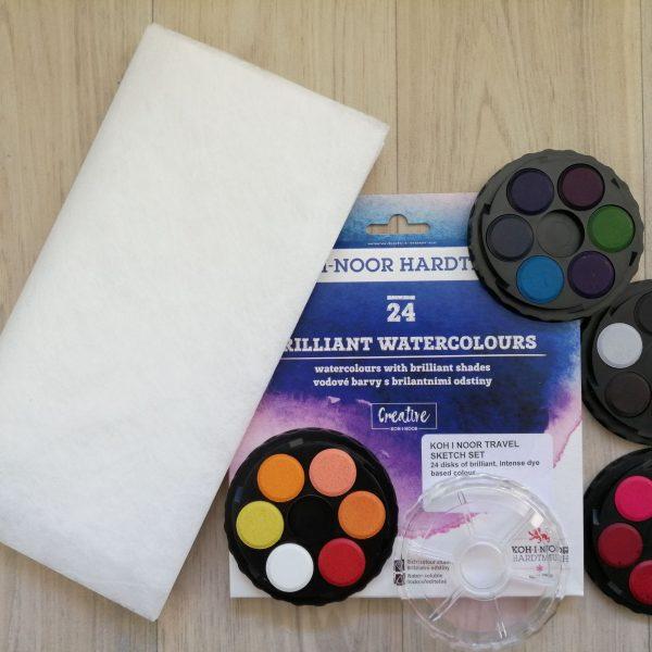 paints and lutradur 4MP