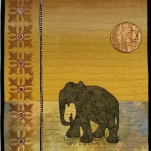 Desert Elephant Pattern