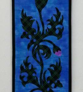 Celtic Thistle  Blue