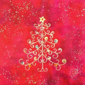 Christmas Tree Design Kit Red